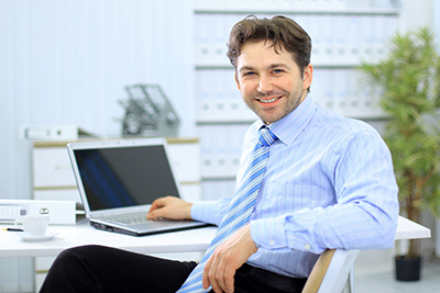 Lending Officer recommending factoring to a client